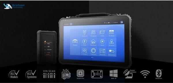 Automotive Diagnose & Analysesystem, Brotos® Pro-Modul OBD2 QLEX 800 DIGITAL