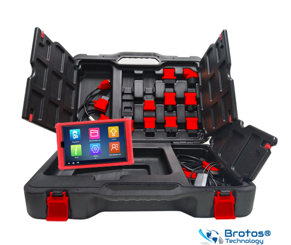 Automotive Diagnose & Analysesystem, Brotos® Pro-Modul OBD2 iSmart800 DIGITAL