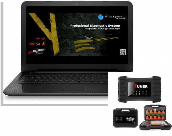 LKW Diagnose Notebook Gerät - Brotos® Pro-Modul LKW OBD2 für fast alle LKW mit Tiefendiagnose 2021