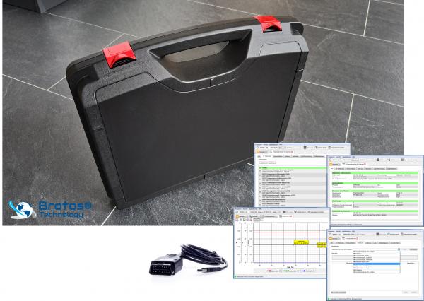 Testerset für VAG. HEX Basis Koffer incl. Diagnose Software Lizenz und Update.