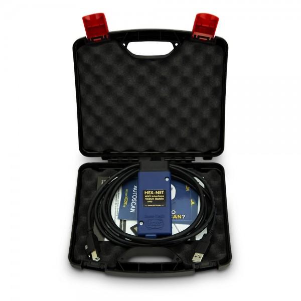 Original Ross-Tech® VCDS® HEX-NET WiFi Basiskoffer 2021, VCDS-Lizenz,VCDS-Updates,24 Monate Garantie